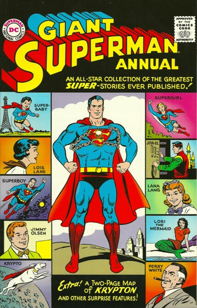 Cover for Giant Superman Annual #1 Replica Edition (DC, 1998 series)