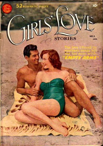 Cover for Girls' Love Stories (DC, 1949 series) #3