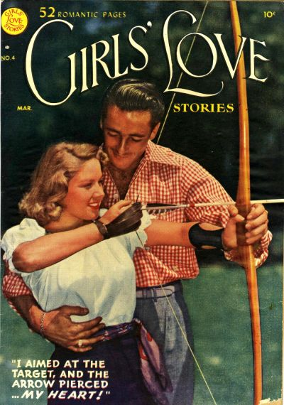 Cover for Girls' Love Stories (DC, 1949 series) #4
