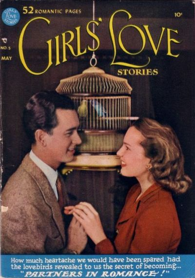 Cover for Girls' Love Stories (DC, 1949 series) #5