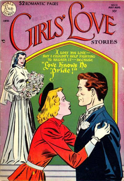Cover for Girls' Love Stories (DC, 1949 series) #12