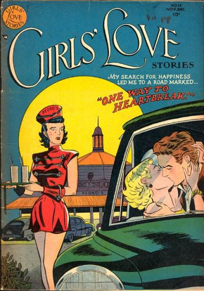 Cover for Girls' Love Stories (DC, 1949 series) #14