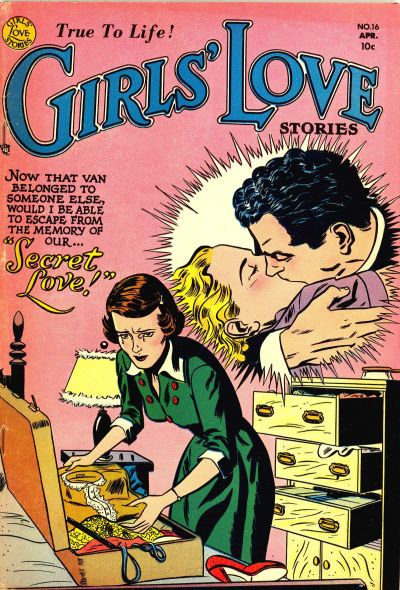 Cover for Girls' Love Stories (DC, 1949 series) #16
