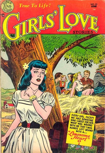 Cover for Girls' Love Stories (DC, 1949 series) #23