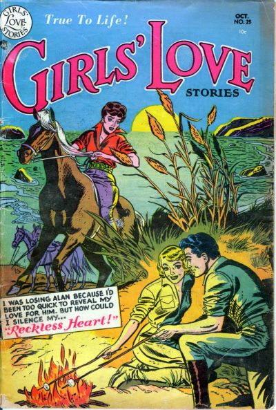Cover for Girls' Love Stories (DC, 1949 series) #25