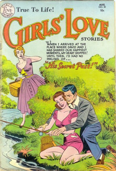 Cover for Girls' Love Stories (DC, 1949 series) #30