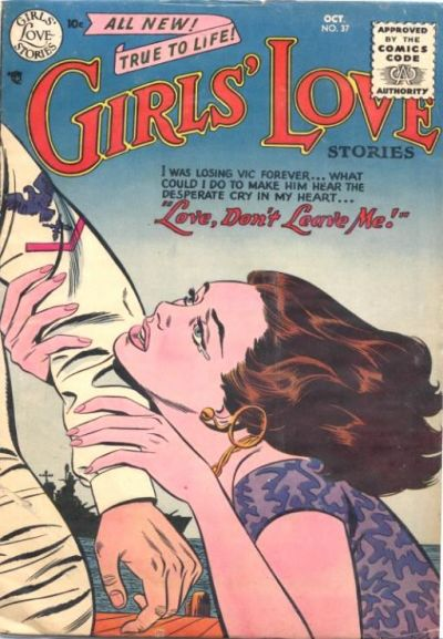 Cover for Girls' Love Stories (DC, 1949 series) #37