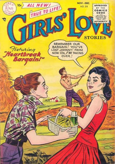 Cover for Girls' Love Stories (DC, 1949 series) #38