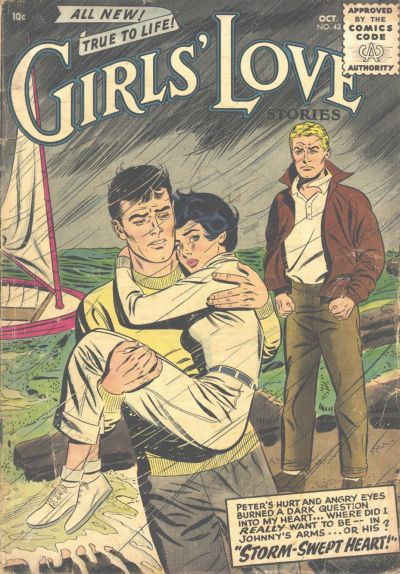 Cover for Girls' Love Stories (DC, 1949 series) #43