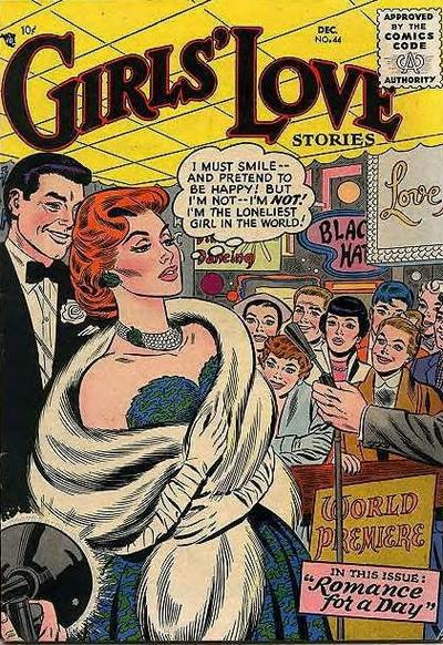 Cover for Girls' Love Stories (DC, 1949 series) #44