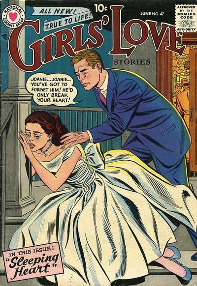 Cover for Girls' Love Stories (DC, 1949 series) #47