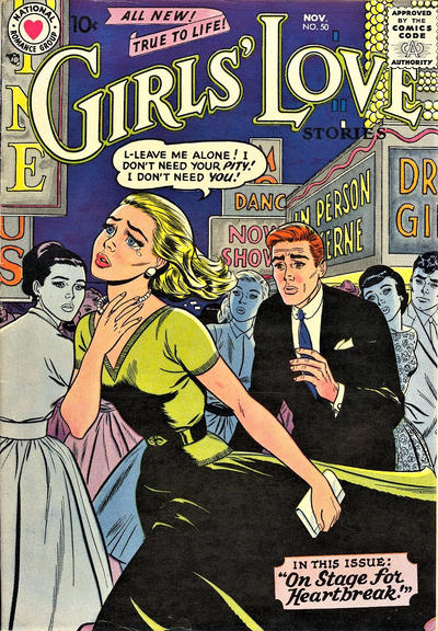 Cover for Girls' Love Stories (DC, 1949 series) #50