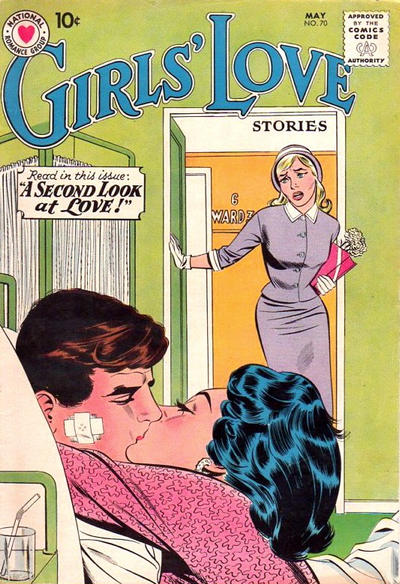 Cover for Girls' Love Stories (DC, 1949 series) #70