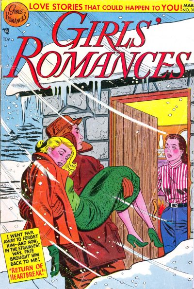 Cover for Girls' Romances (DC, 1950 series) #31