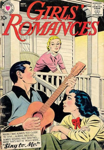 Cover for Girls' Romances (DC, 1950 series) #56