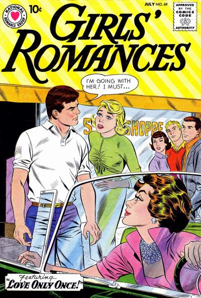 Cover for Girls' Romances (DC, 1950 series) #69