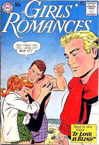 Cover for Girls' Romances (DC, 1950 series) #71