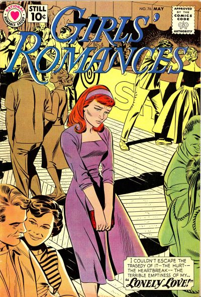 Cover for Girls' Romances (DC, 1950 series) #76