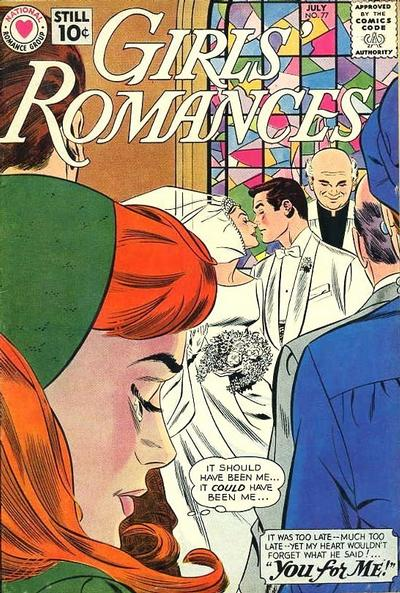 Cover for Girls' Romances (DC, 1950 series) #77