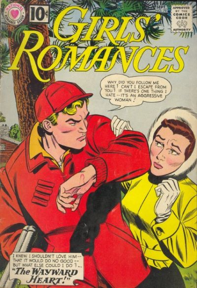 Cover for Girls' Romances (DC, 1950 series) #78
