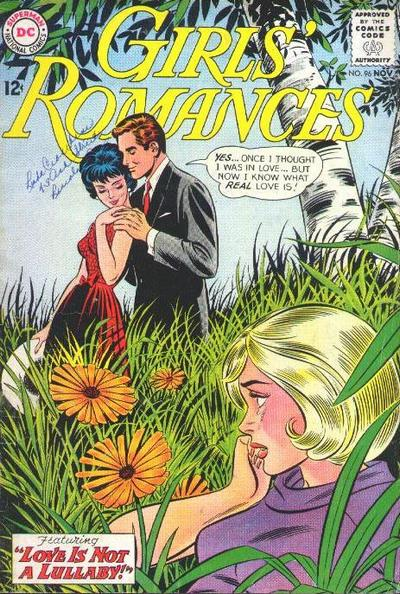 Cover for Girls' Romances (DC, 1950 series) #96
