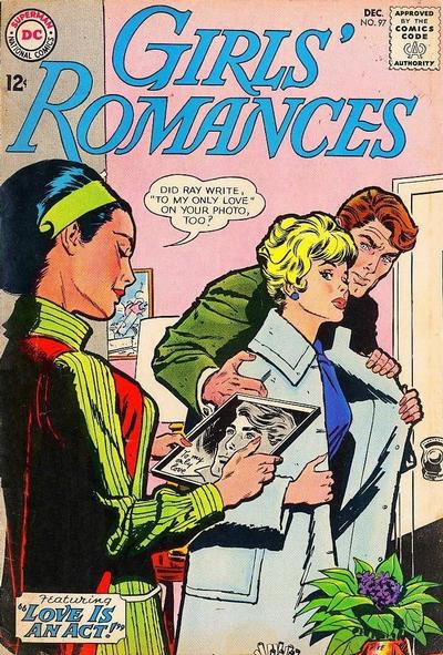 Cover for Girls' Romances (DC, 1950 series) #97