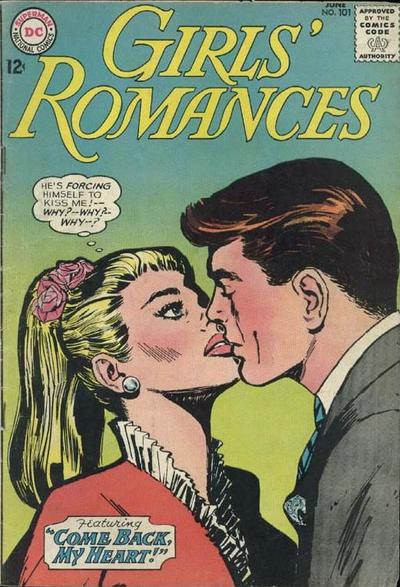Cover for Girls' Romances (DC, 1950 series) #101
