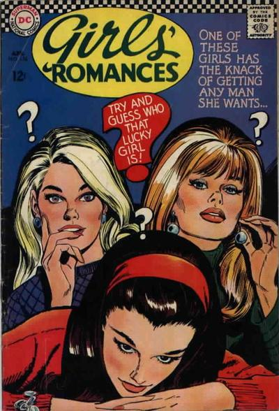 Cover for Girls' Romances (DC, 1950 series) #124