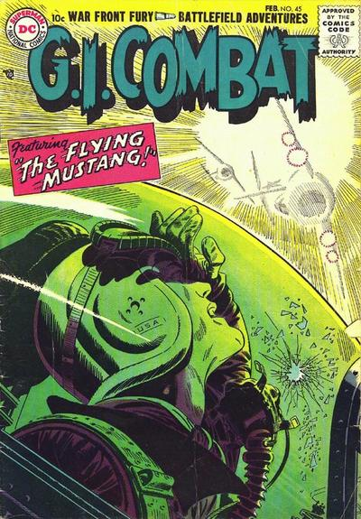 Cover for G.I. Combat (DC, 1957 series) #45