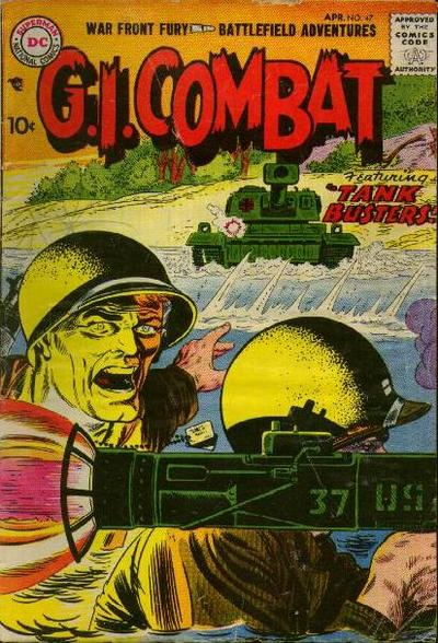 Cover for G.I. Combat (DC, 1957 series) #47
