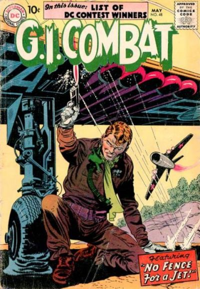 Cover for G.I. Combat (DC, 1957 series) #48