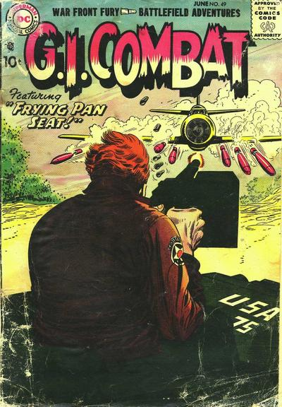 Cover for G.I. Combat (DC, 1957 series) #49