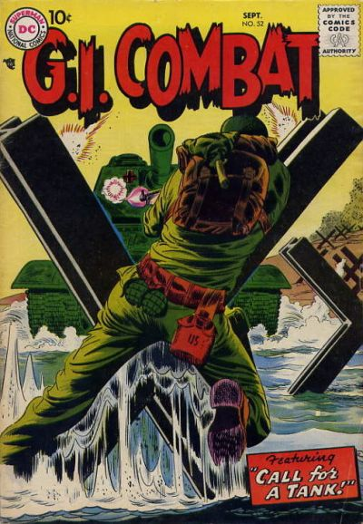 Cover for G.I. Combat (DC, 1957 series) #52