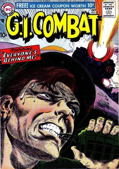 Cover for G.I. Combat (DC, 1957 series) #53