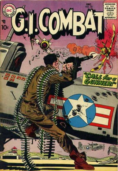 Cover for G.I. Combat (DC, 1957 series) #55