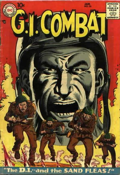 Cover for G.I. Combat (DC, 1957 series) #56