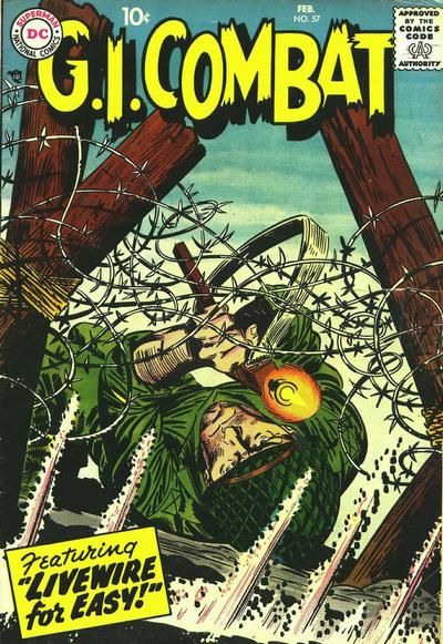 Cover for G.I. Combat (DC, 1957 series) #57