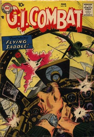 Cover for G.I. Combat (DC, 1957 series) #58