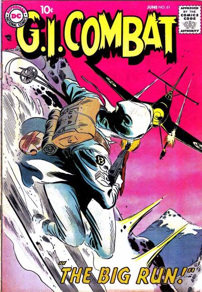 Cover for G.I. Combat (DC, 1957 series) #61