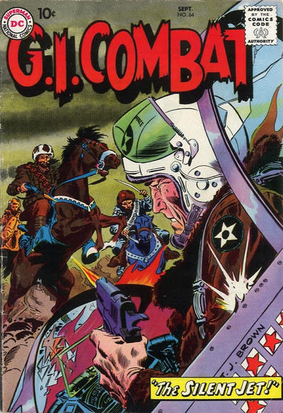 Cover for G.I. Combat (DC, 1957 series) #64