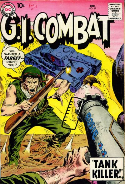 Cover for G.I. Combat (DC, 1957 series) #67