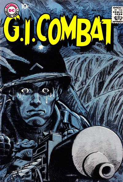 Cover for G.I. Combat (DC, 1957 series) #69