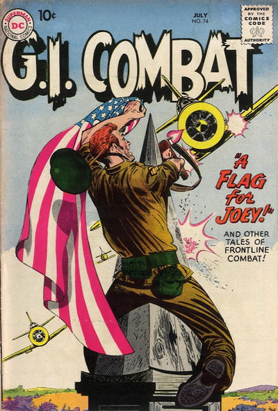 Cover for G.I. Combat (DC, 1957 series) #74