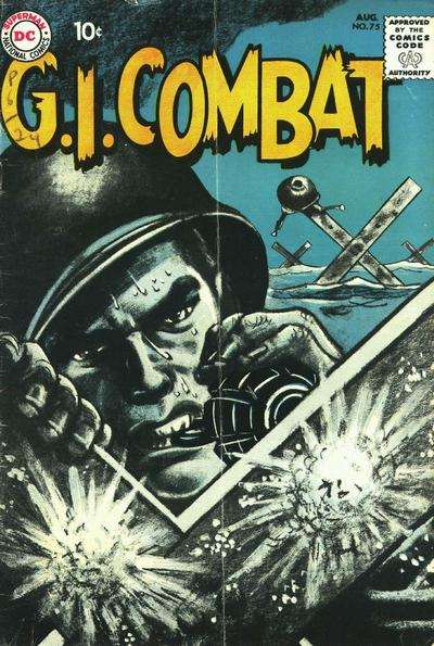 Cover for G.I. Combat (DC, 1957 series) #75