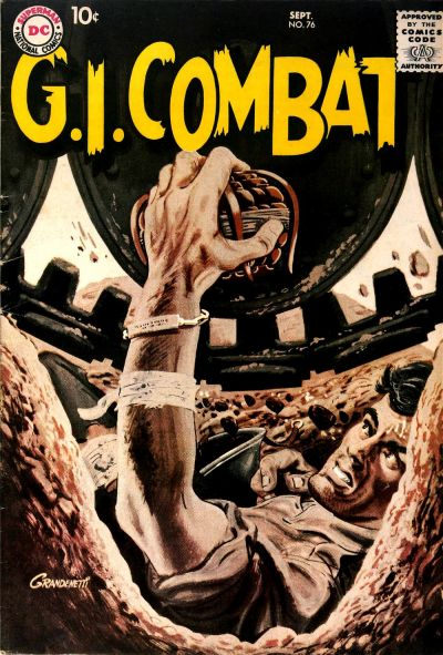 Cover for G.I. Combat (DC, 1957 series) #76