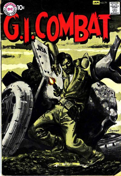 Cover for G.I. Combat (DC, 1957 series) #79