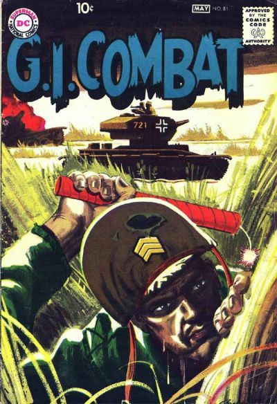 Cover for G.I. Combat (DC, 1957 series) #81