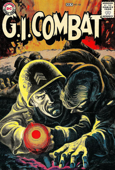 Cover for G.I. Combat (DC, 1957 series) #82