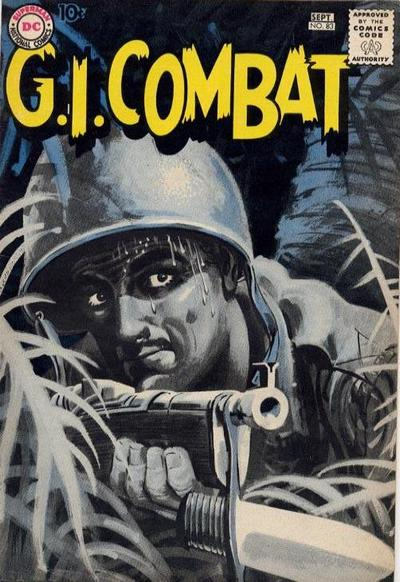 Cover for G.I. Combat (DC, 1957 series) #83