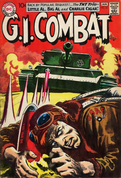 Cover for G.I. Combat (DC, 1957 series) #85
